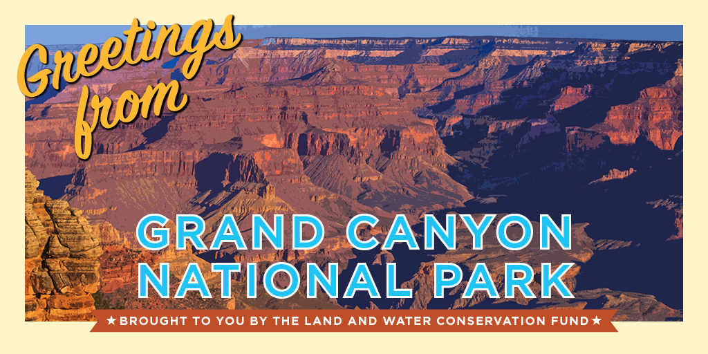 Greetings from Grand Canyon National Park