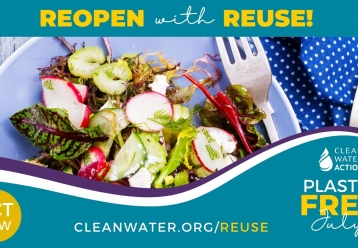 National Plastic Free July Reopen With Reuse