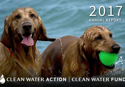 Clean Water Action-Clean Water Fund Annual Report 2017