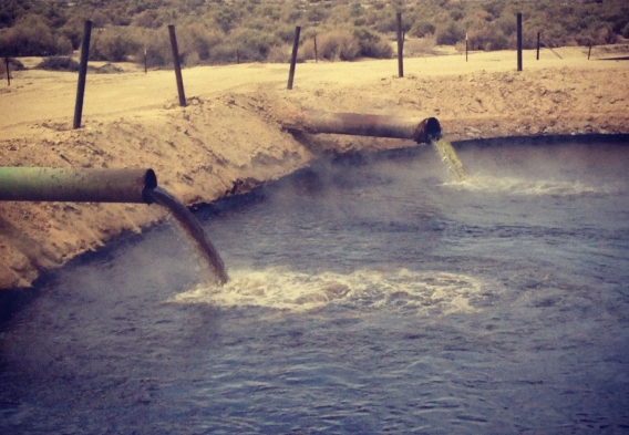 Oil and gas waste pits - CA