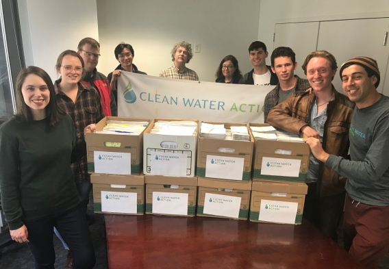 More than 72,000 comments opposed to the Dirty Water Rule!